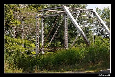 Bridge closes as time passes -Bliss Road Auglaize River