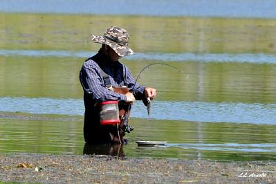 Fishing in Kiser Lake