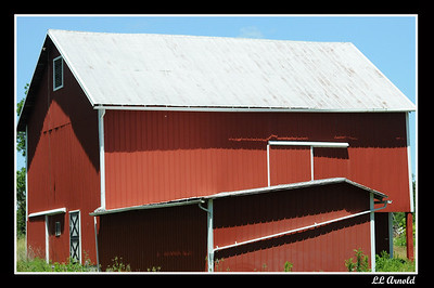 Sunderland Rd barn, time past with will no longer to see