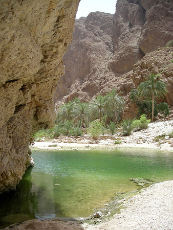 in Wadi Shab