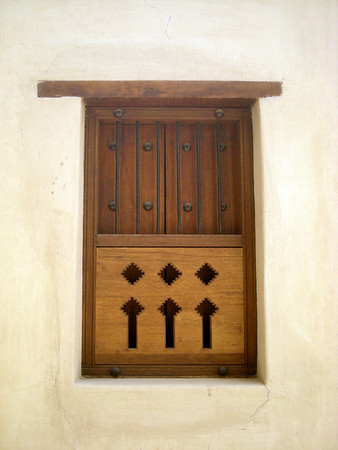 window at Nizwa Fort