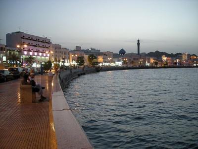 the corniche in Mutrah district, Muscat