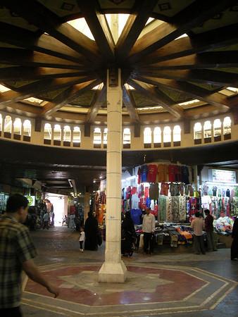inside the Mutrah souk