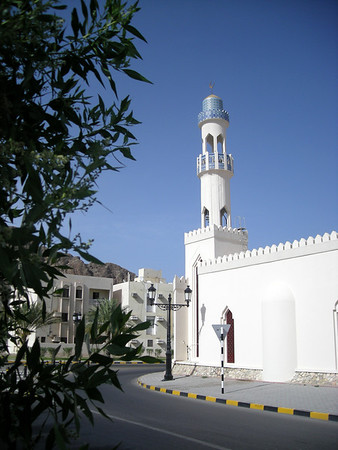 a mosque in old Muscat