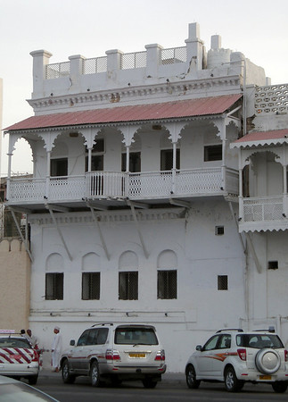 an old house on the corniche