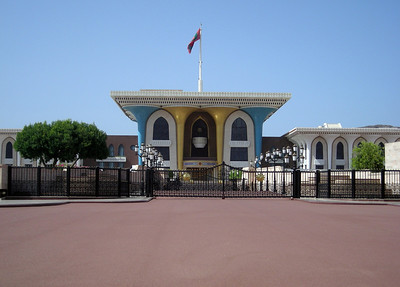 the Sultan's Palace, Muscat, Oman