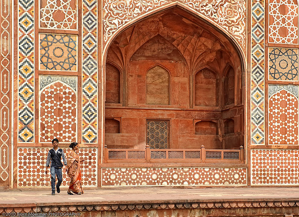 Akbar's Mausoleum at Sikandra