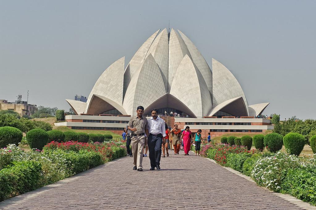 Baha'i House of Worship -Lotus templen, South of Delhi