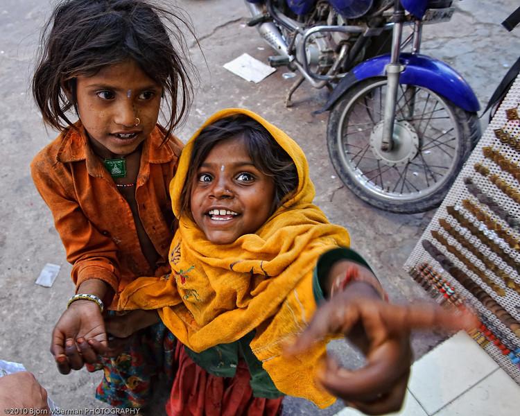Homeless kids at Main Bazaar, Delhi