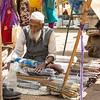 Town of Khajuraho local market...selling flutes