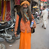 Sadhu hermit, followers of Shiva