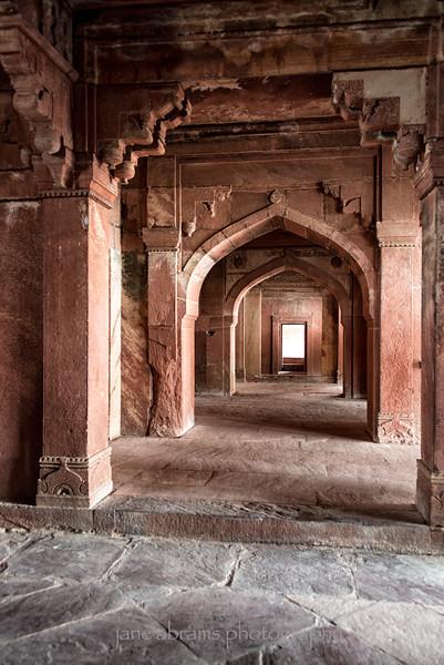 Fatehpur Sikri, once the capital of Mughal Emperor Akbar