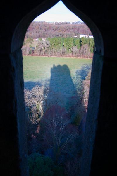 Blarney Castle's Shadow<br /> December 2010