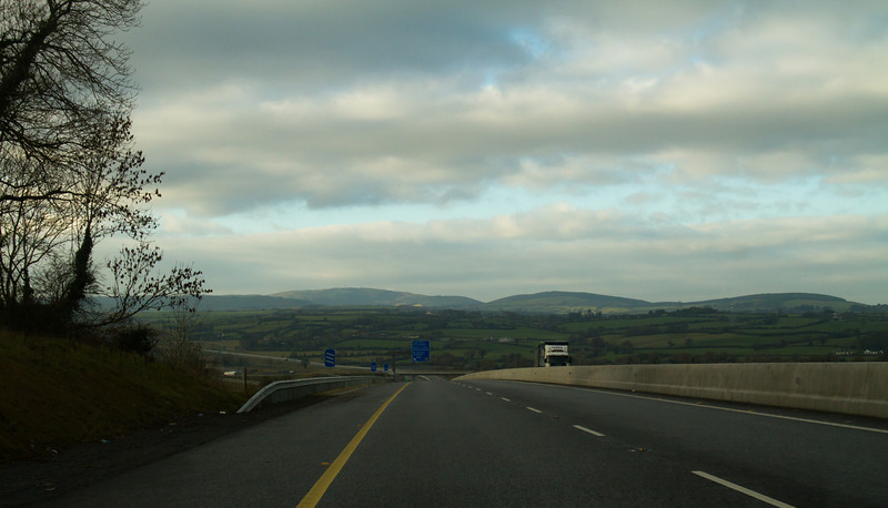 Drive from Dublin to Limerick<br /> Ireland, December 2010<br /> <br /> Just up for the scrapbook.