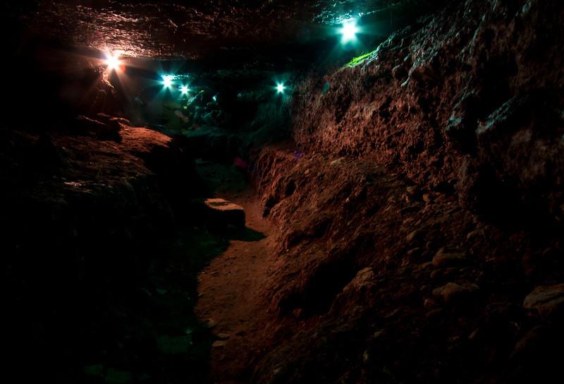 Blarney Castle Grounds<br /> Passageways<br /> December 2010