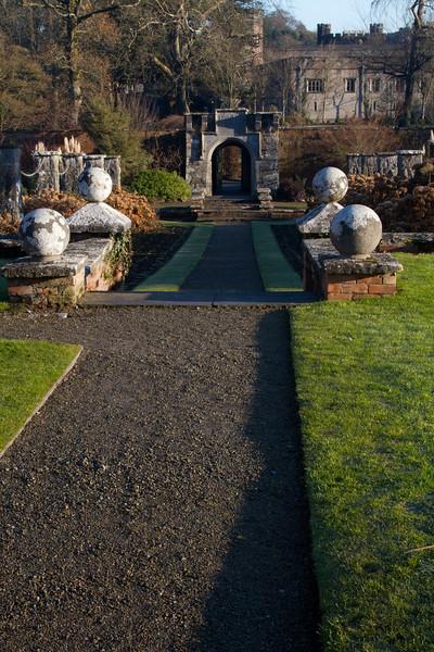 Dromoland Castle Grounds<br /> Ireland, December 2010