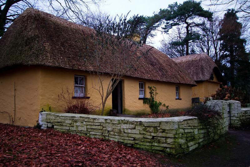 Typical Farm House<br /> Bunratty Park<br /> December 2010