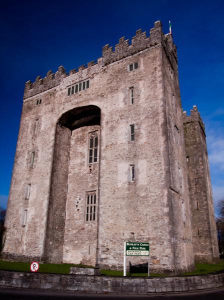 Bunratty Castle<br /> December 2010