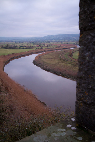 From the Top.<br /> Bunratty Castle<br /> December 2010