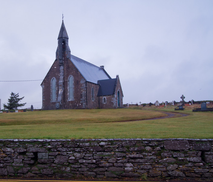 Abbey along the Ring of Kerry<br /> December 2010