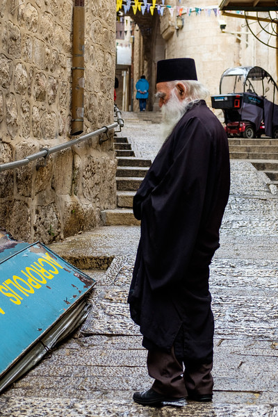 In the Christian Quarter, Old City, Jerusalem