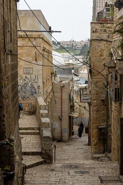 In the Muslim Quarter, Old City, Jerusalem