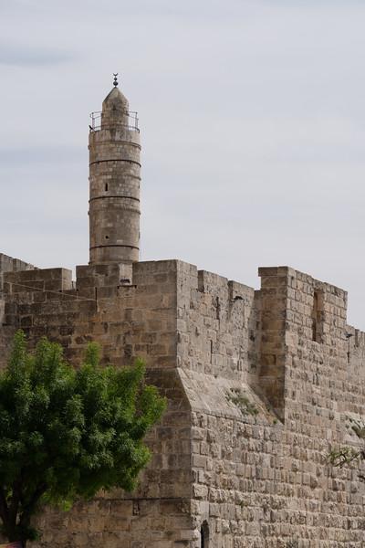 Tower of David at the Jaffa Gate, Old City, Jerusalem