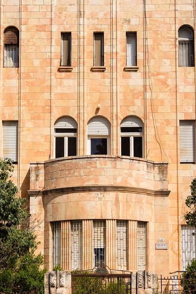 Modernist architecture in Jerusalem:  Wigolik House (1937), 20 HaKeren HaKayemet Le-Israel St.