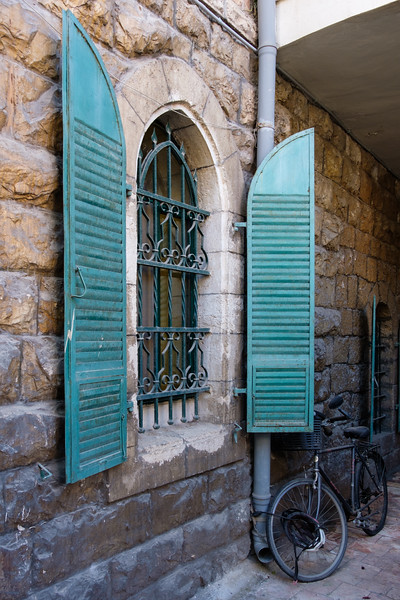 Architecture in the Moshava (former German Colony), Jersualem