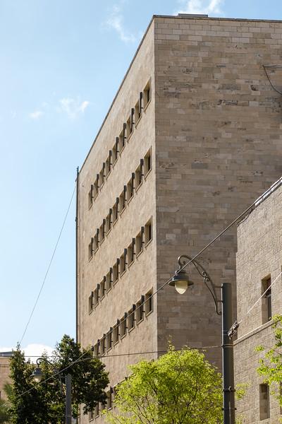 Anglo-Palestine Bank , Jerusalem (Erich Mendelsohn, 1939)