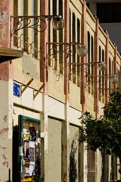 Eden Cinema, opened 1914, and closed 1975, in the Neve Tzedik district, Tel Aviv-Yafo