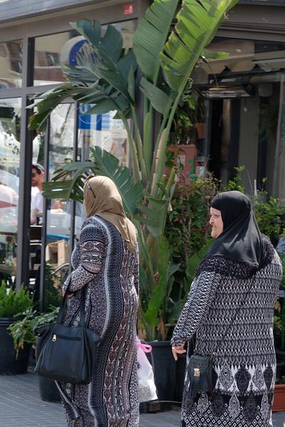 At the Jaffa (Yafo) Flea Market (Shuk HaPishpushim)