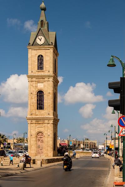 Ottoman clock tower, Jaffa (Yafo)