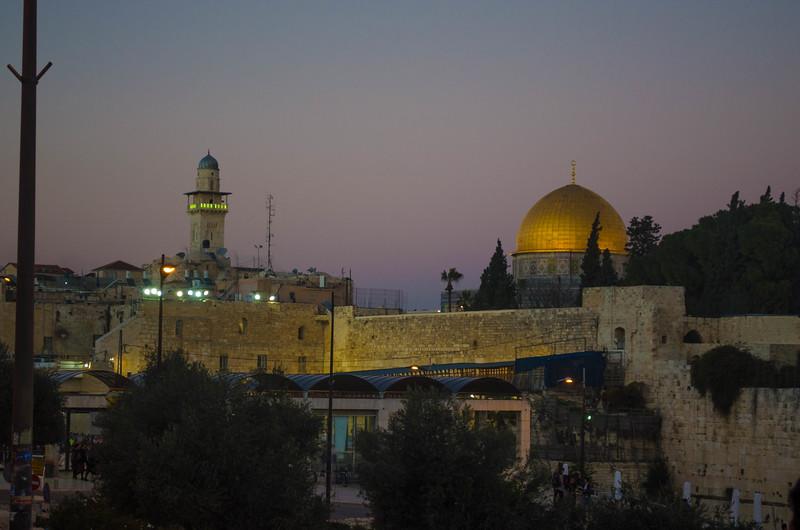 Jerusalem at Sundown on Shabbat