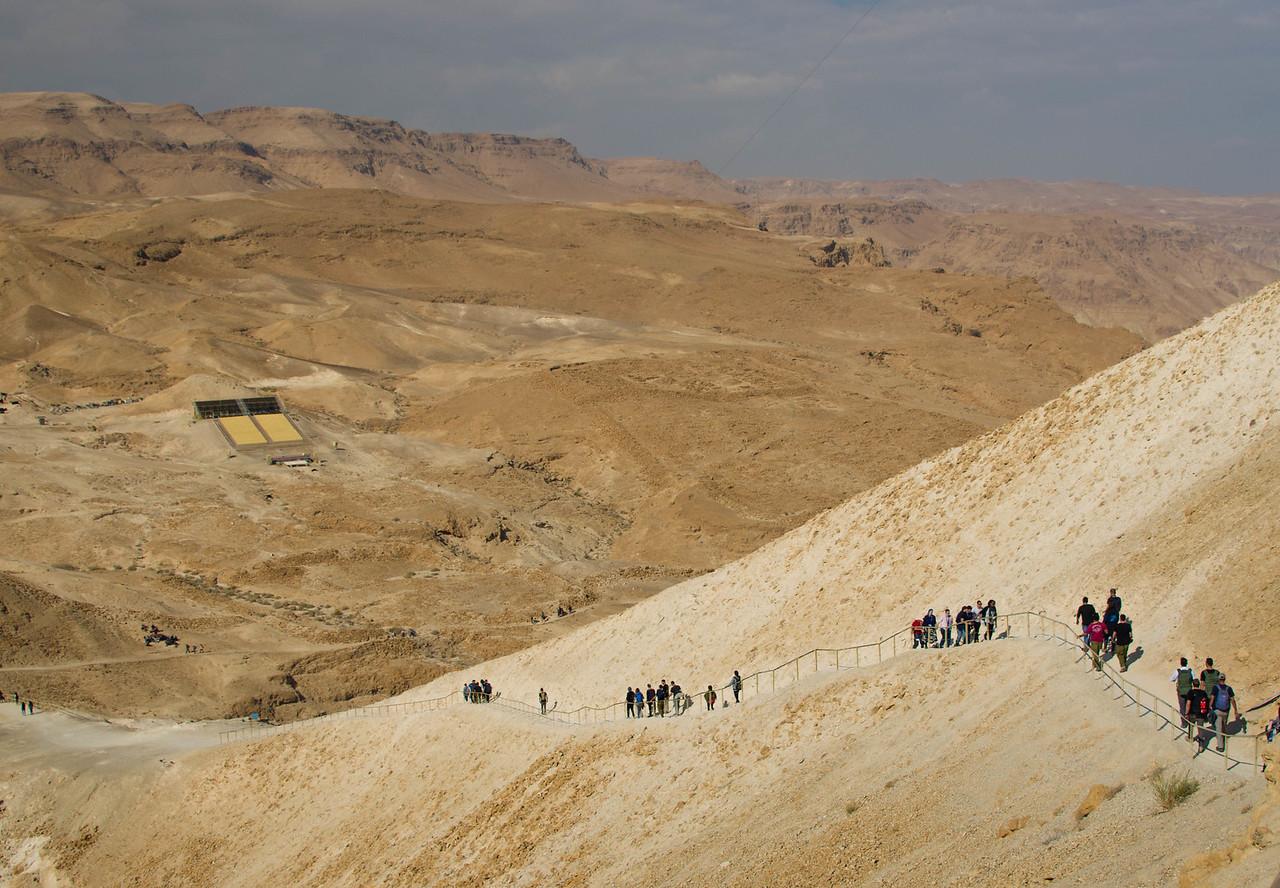 Hiking Massada