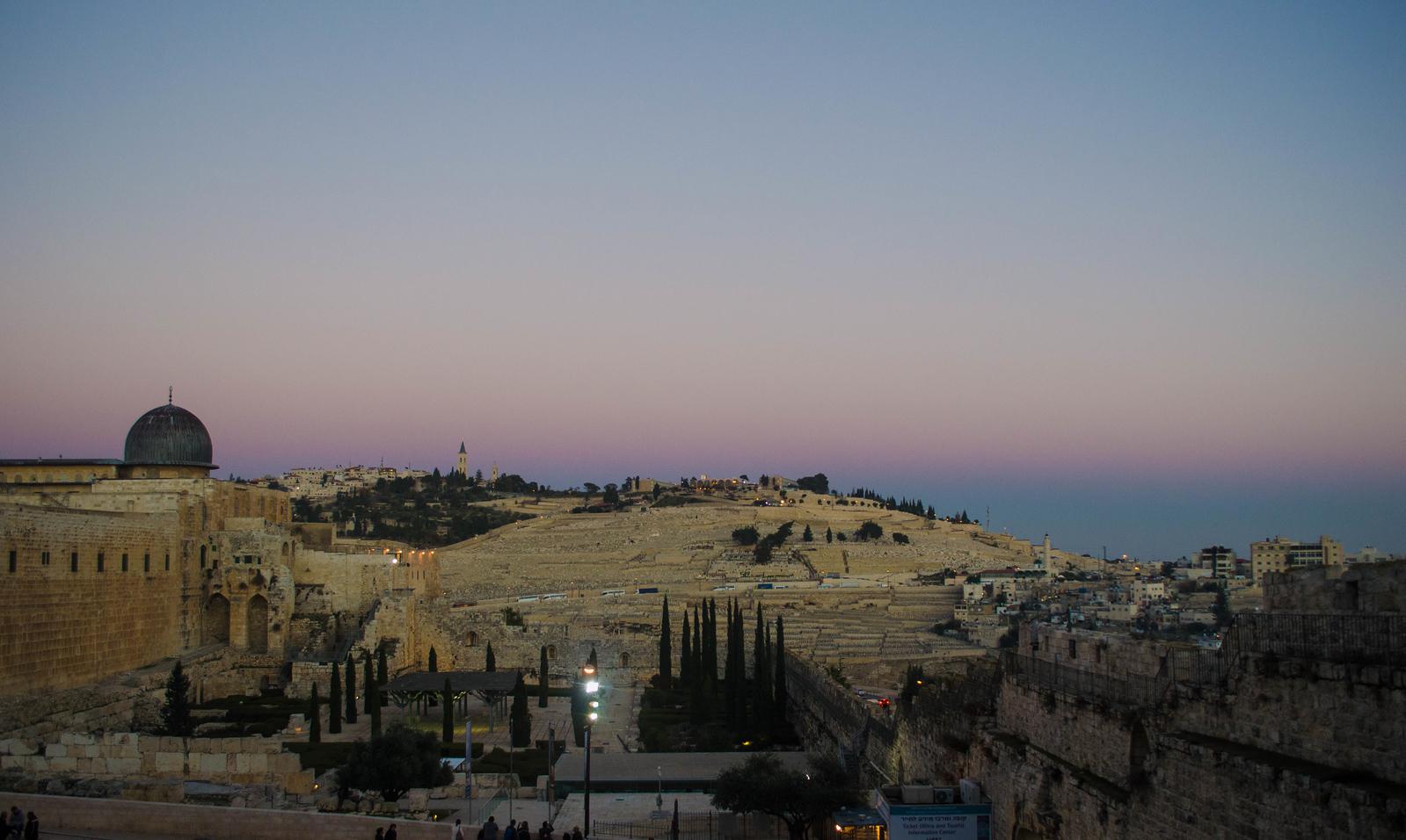 Golden Hour in Jerusalem