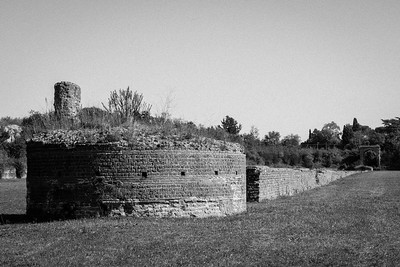 The Circus of Maxentius, Rome : built for chariot racing.