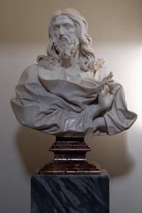 Church and catacombs of St Sebastian : Bernini's last sculpture.