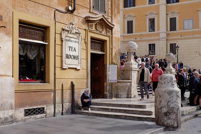 Rome on a Sunday.