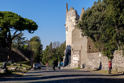 On the Appian Way.
