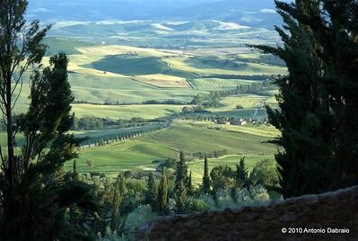 Val d'Orcia - Veduta da Pienza - Toscana