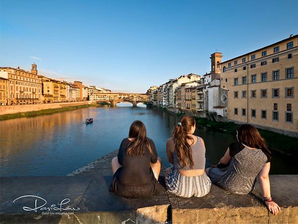 Ponte Vecchio, Firenze, Florence - the oldest bridge