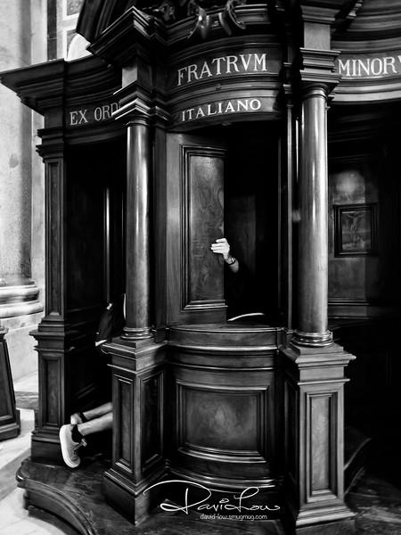 Confession - St. Peter's Church Basilica