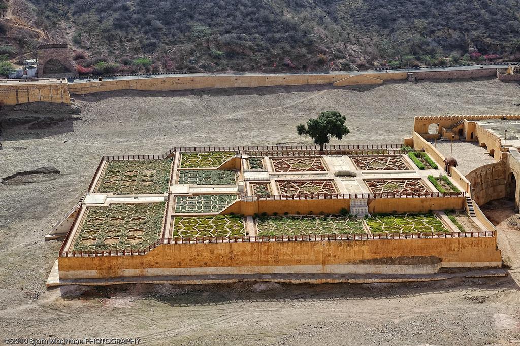 Kesar Kyari Bagh at Amber Fort