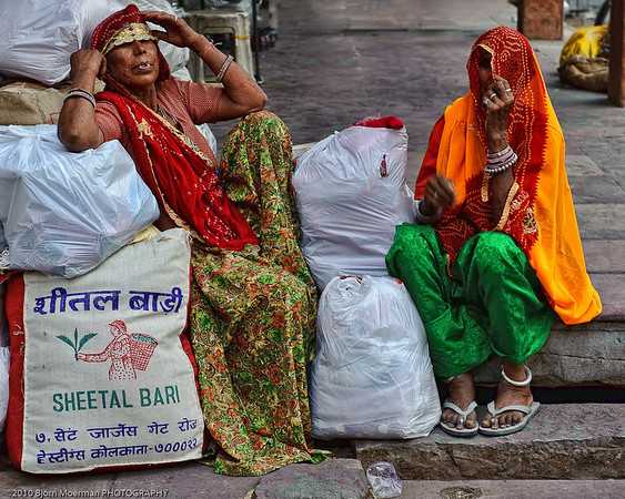 No wanting to be photographed in Jaipur