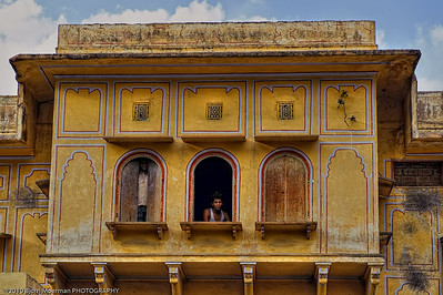 On the lookout in Jaipur