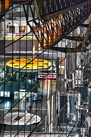 Reflections: Kyoto Rail Station