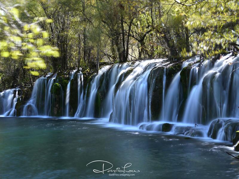 Arrow waterfall