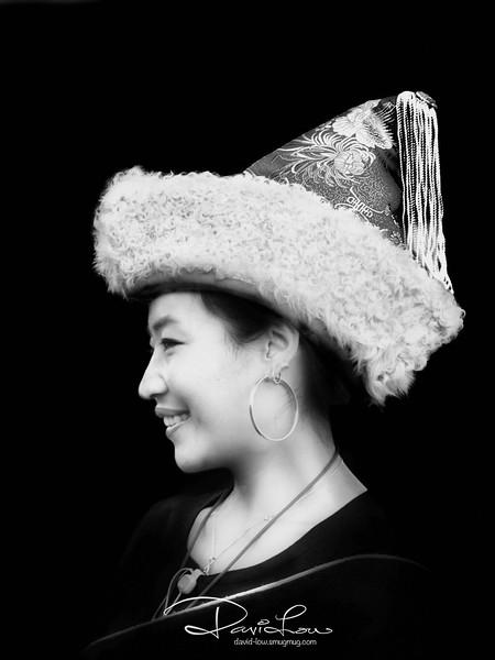 A Tibetan lady