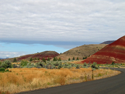 John Day Fossil Beds National Monument, Oregon (Painted Hills Unit) (4)